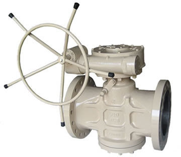 Inverted Pressure Balance Lubricated Plug Valve DN50-DN700 PN16-64 CS SS AS Duplex